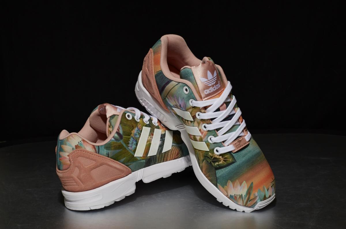 sports shoes 9f4ea 36ec0 ... adidas ZX Flux W – Dust Pink   Footwear White  Dust Pink