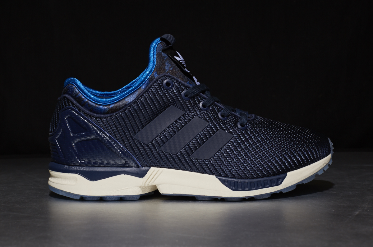 a0601670fd6c7 Italia Independent x adidas Originals ZX Flux NPS – Collegiate Navy /  Bluebird