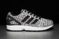 adidas ZX Flux Weave – black grey white
