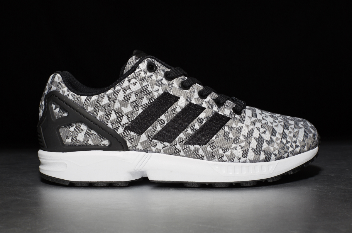 ... adidas ZX Flux Weave – black grey white ...