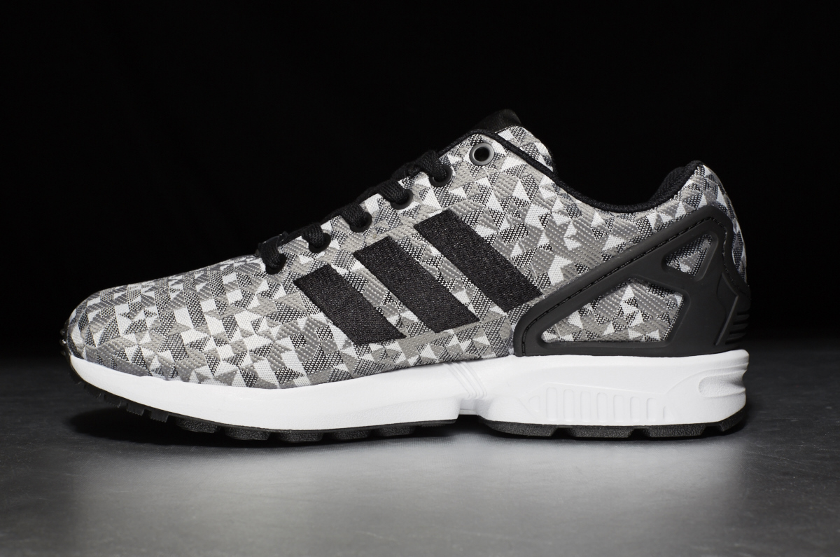 reputable site 3480f a67df adidas Originals ZX Flux Weave – Ftwr White / Core Black / Ch Solid Grey