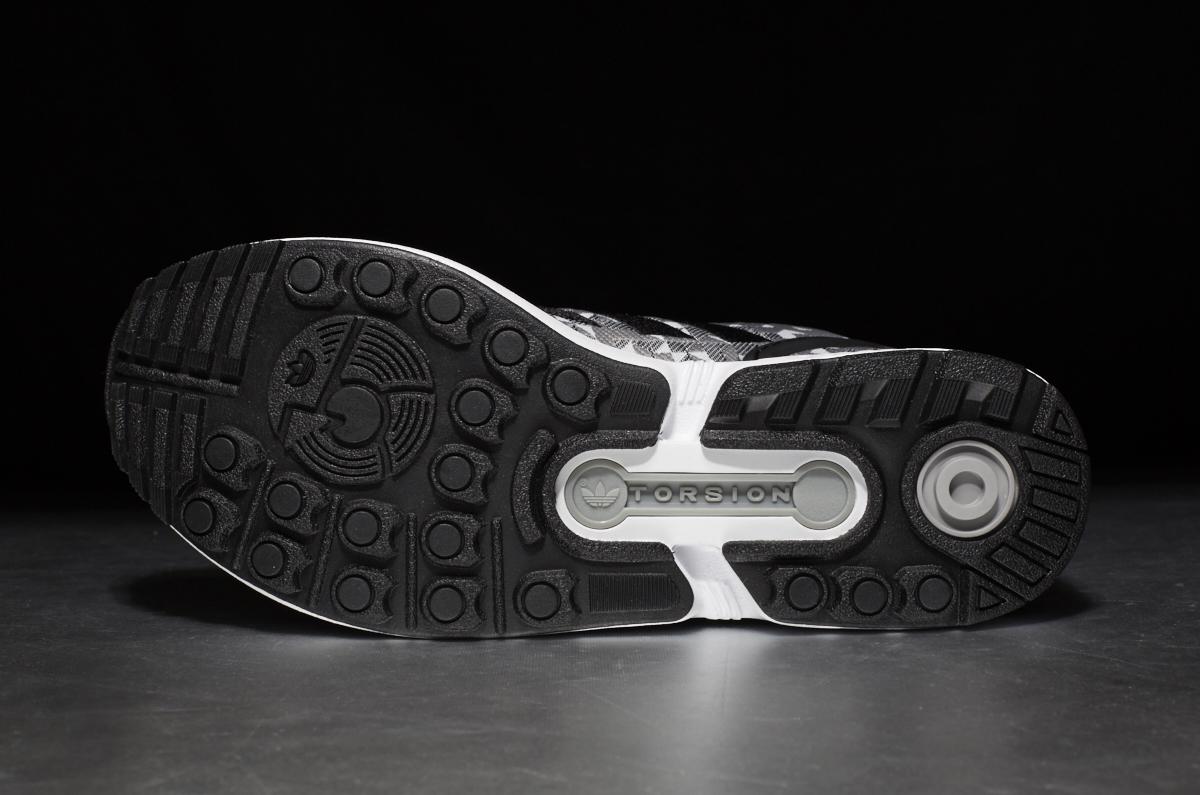 Adidas Zx Flux Weave Black/Grey-white