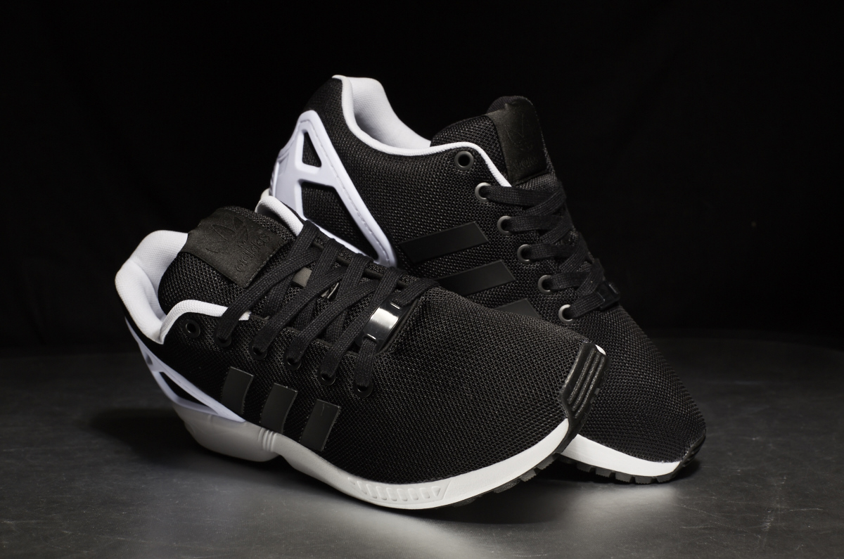 Adidas Zx Flux White Core Black