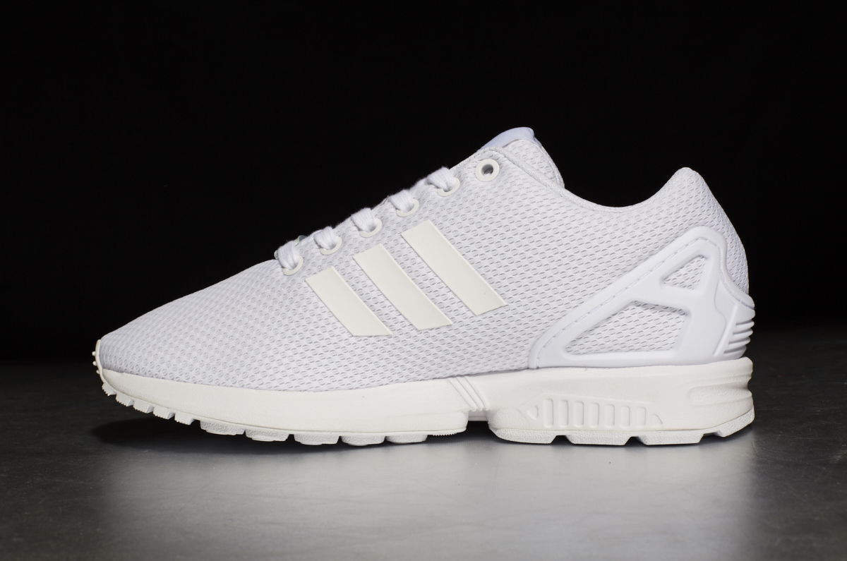 buy popular 6e503 6126d adidas Originals ZX Flux – Ftwr White / Ftwr White / Off White