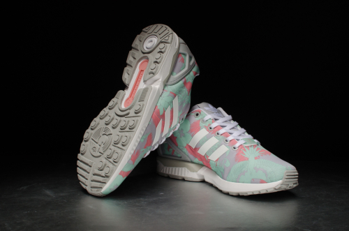 adidas ZX Flux W – Clear Onix / Footwear White/ Vista Pink