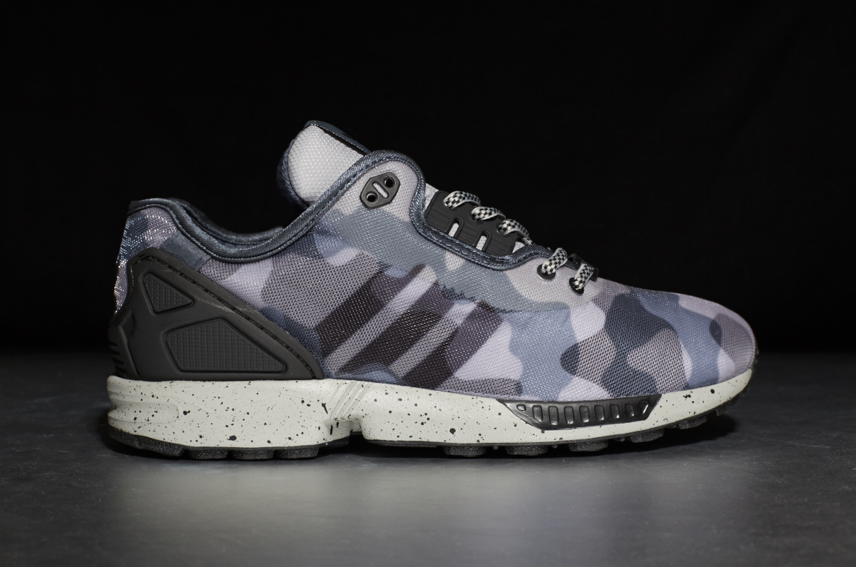 detailed pictures baaf9 06526 adidas ZX Flux Decon – grey camo ...
