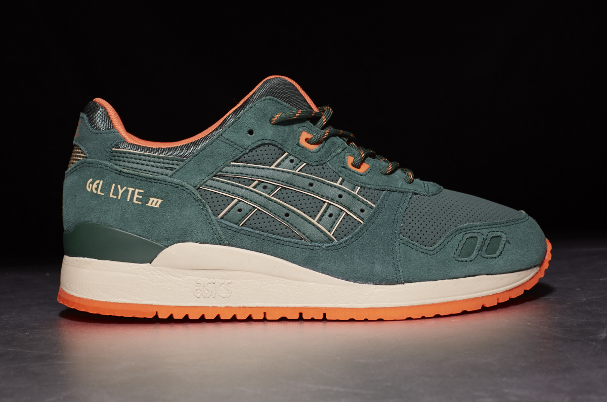 "ASICS Gel Lyte III ""Outdoor Pack"" – Dark Green"