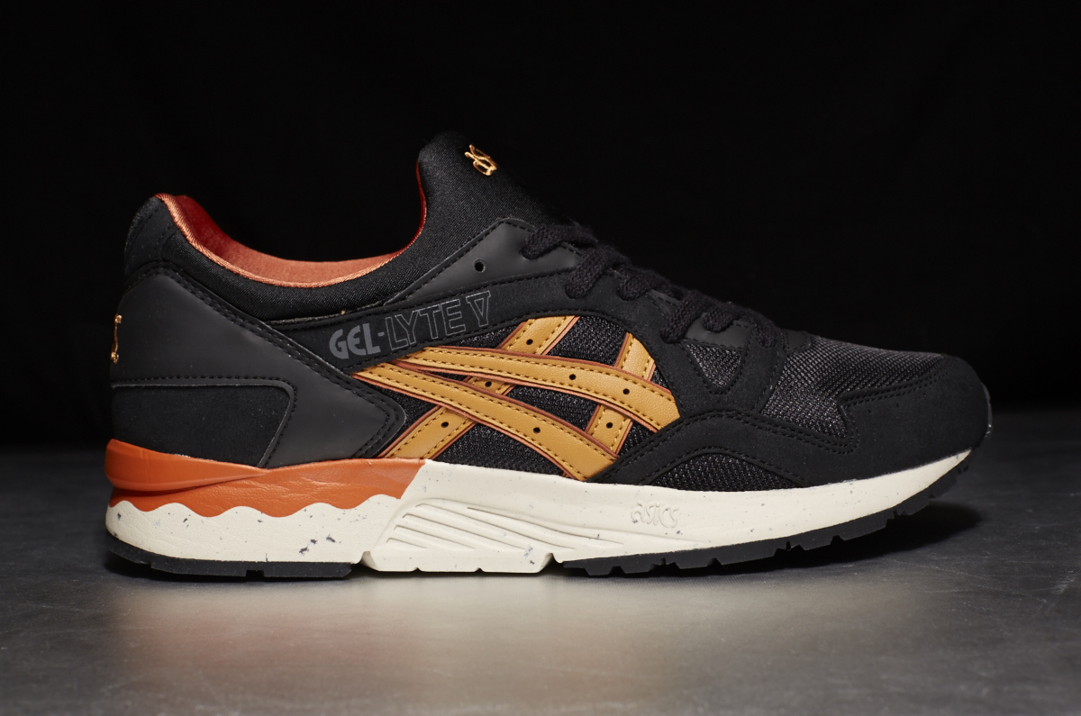 asics gel lyte black and tan