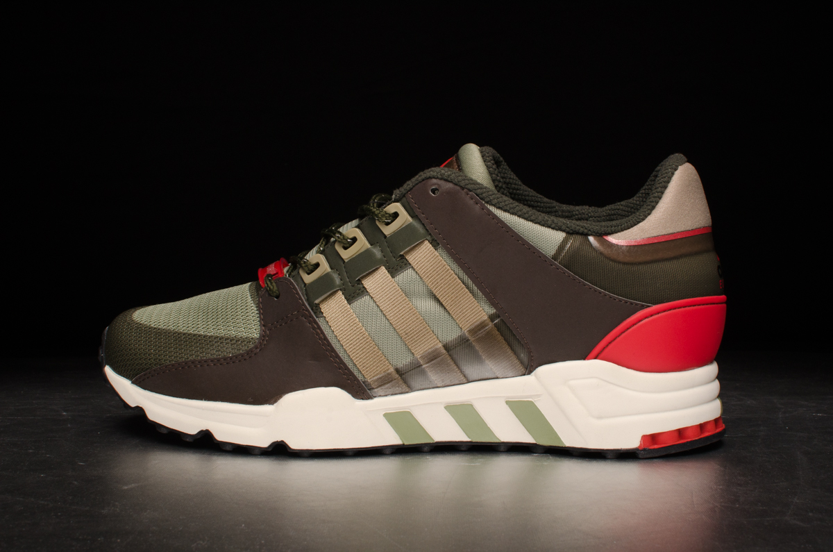 pretty nice 565c2 5ef8e adidas Originals Equipment Running Support 93 – St Tent Green / St Cargo  Khaki / Night Cargo
