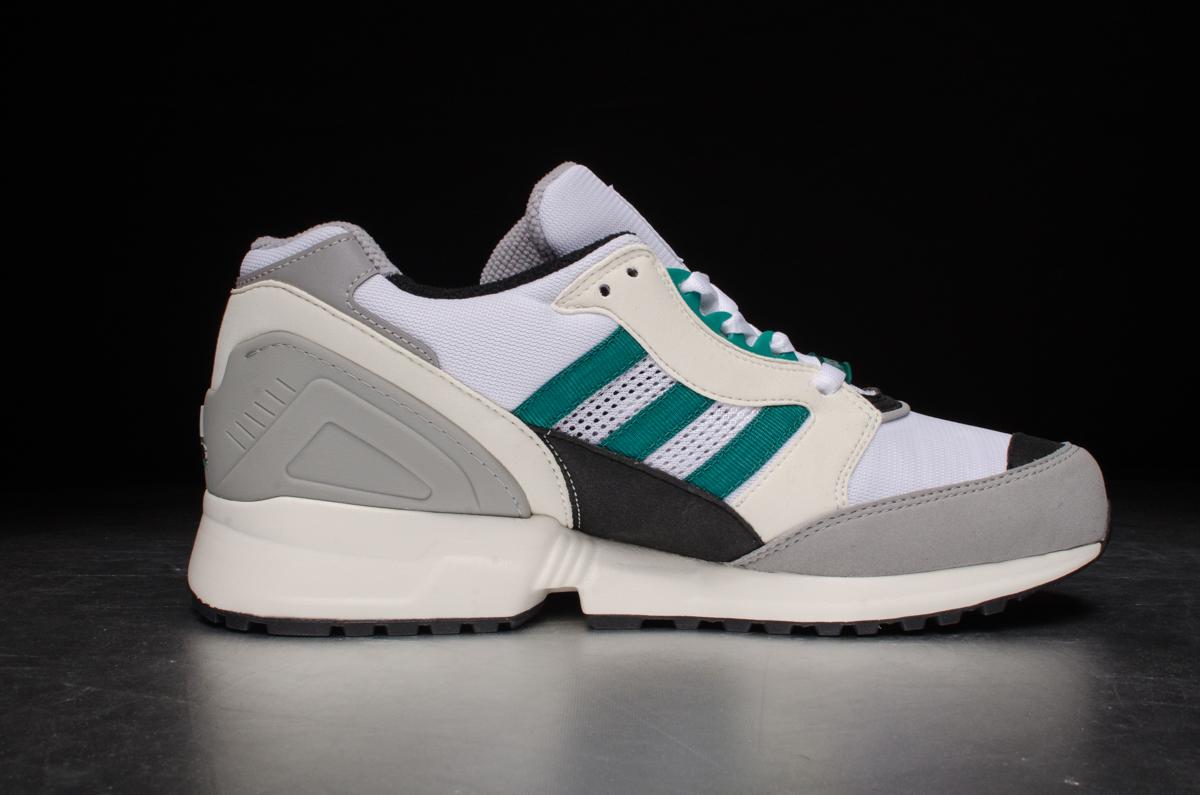 ... adidas Equipment Running Cushion – white / green ...