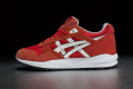 Womens Asics Gel-Saga 'Lovers and Haters Pack' – Fiery Red / White