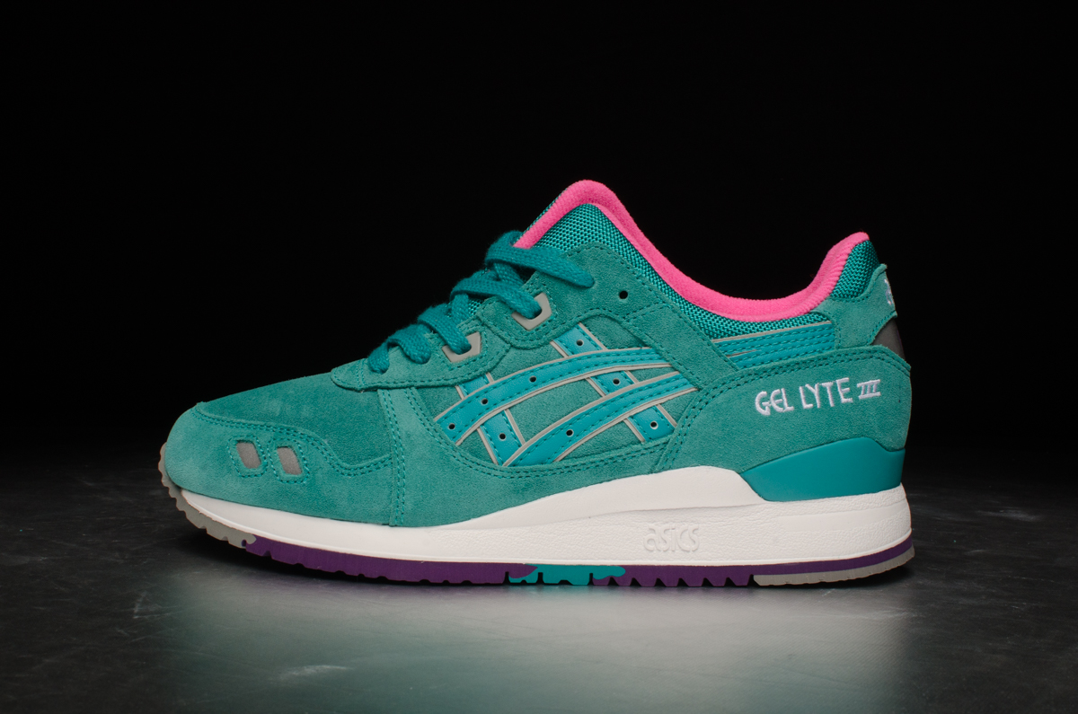 "half off 57782 a5e59 ASICS Tiger Gel-Lyte III ""All Weather"" Pack – Tropical Green"