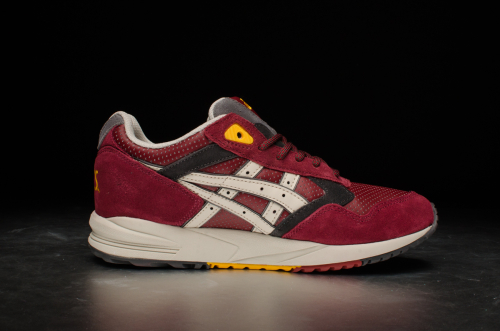 "Asics Wmns Gel-Saga ""Outdoor Pack"" – Burgundy / Off White"