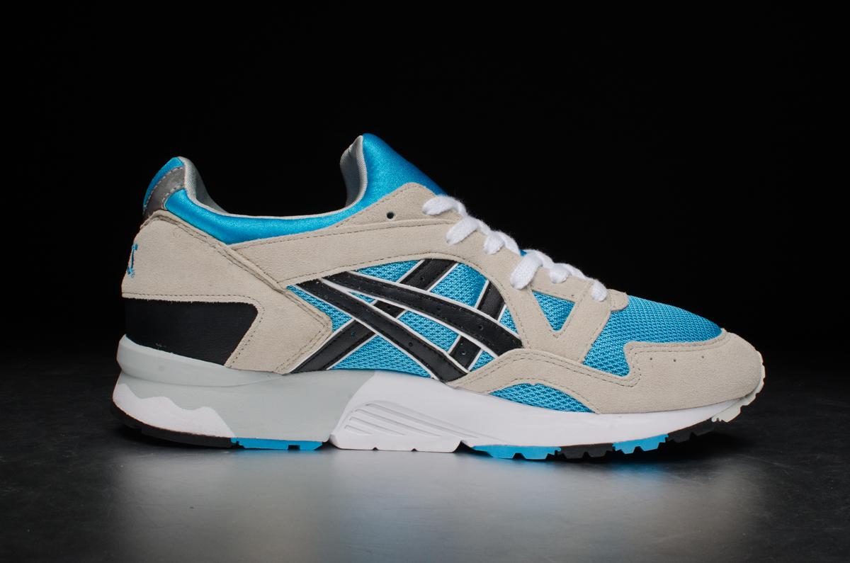 new concept 6c596 9f333 ASICS Gel-Lyte V - Atomic Blue / Black