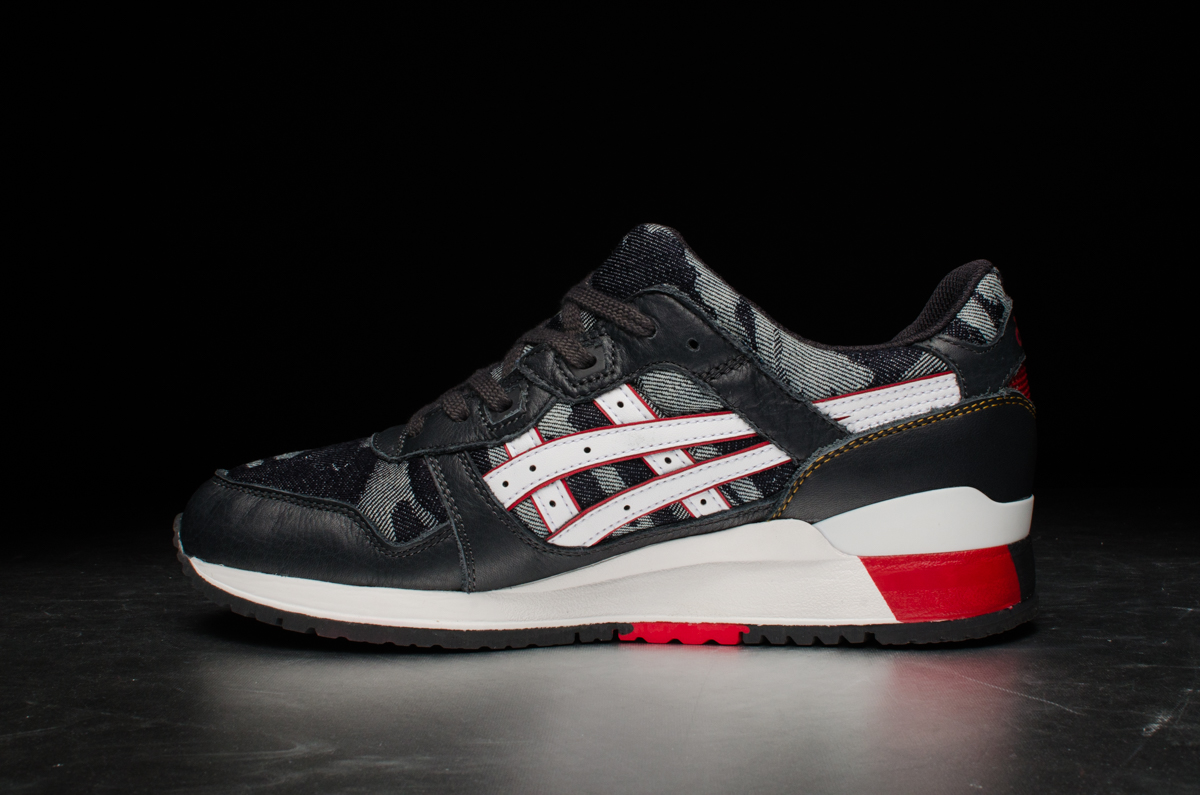 "best service a8447 24a08 ASICS Tiger Gel-Lyte III ""Okayama Denim"" Pack – Dark Grey / White"