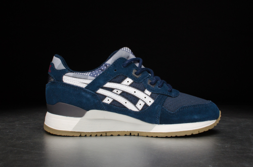 "Asics Wmns Gel-Lyte III ""Patchwork Pack"" – Navy/White"