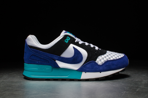 Nike Air Pegasus '89 – White / Deep Royal Blue-Black