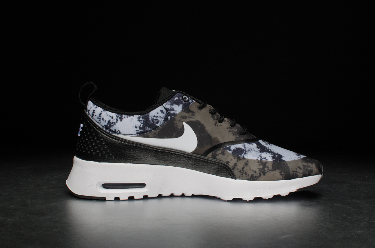 brand new fd615 7d6dc ... Nike Wmns Air Max Thea Print – black white ...