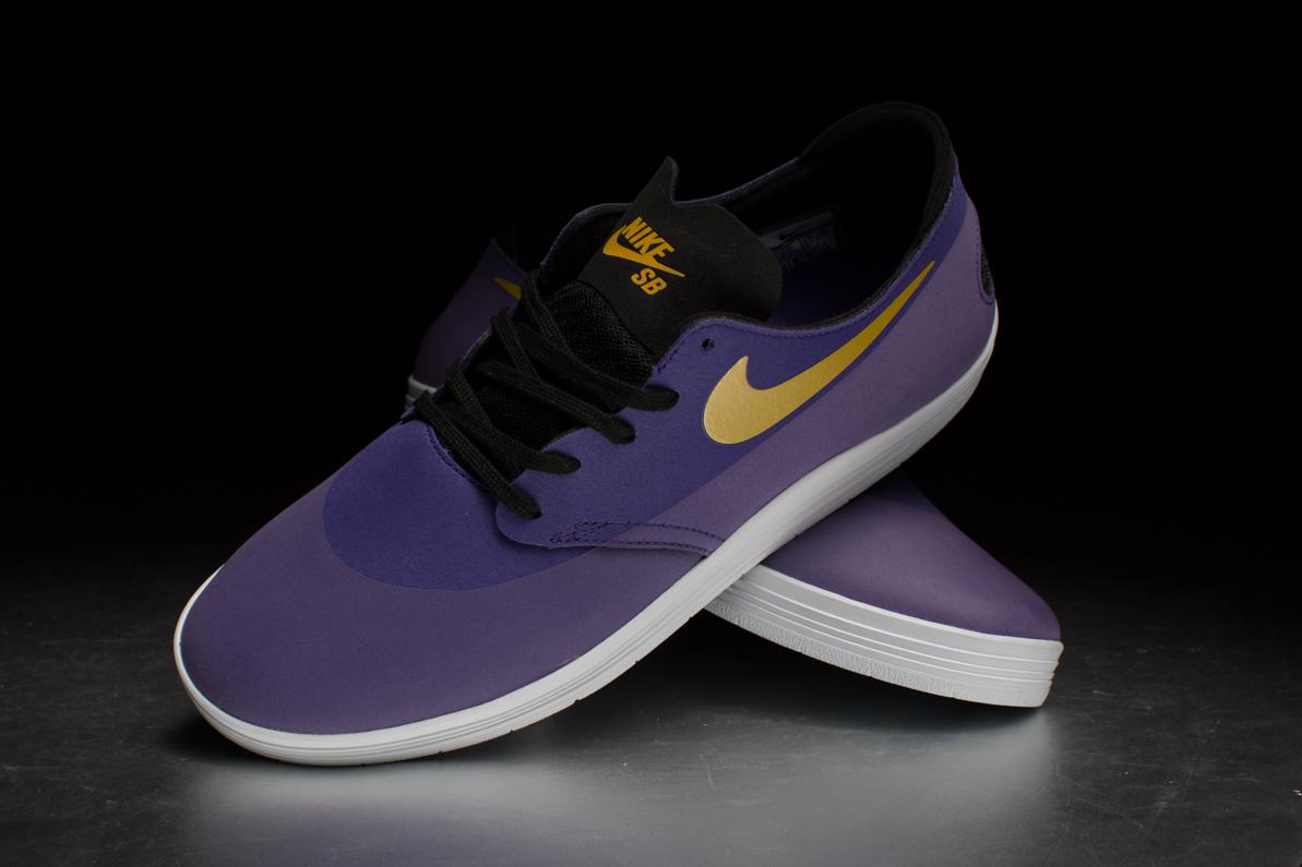 nike sb lunar oneshot � court purple university gold