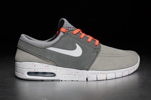Nike Stefan Janoski Max L – Wolf Grey / White