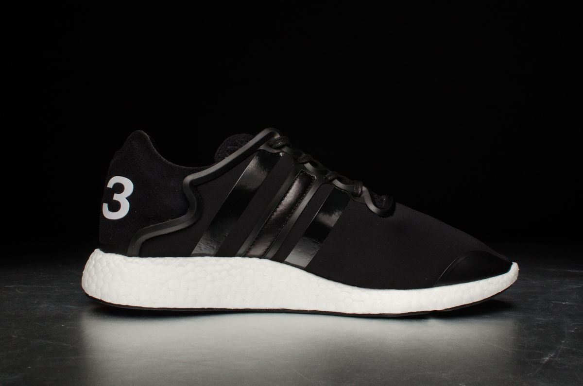 reputable site quite nice buy adidas Y-3 Yohji Boost – Black / White – STASP