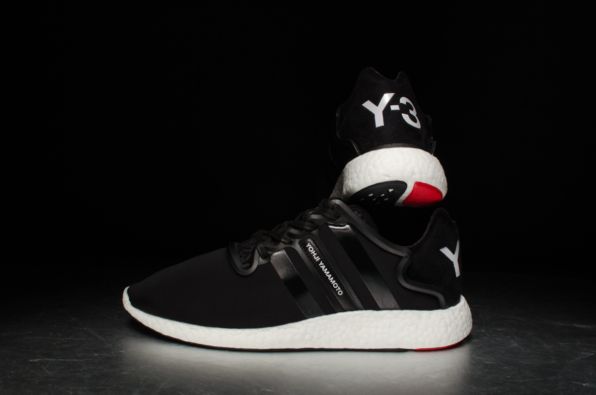 low priced fe7d3 98ffd ... adidas Y-3 Yohji Boost – black white