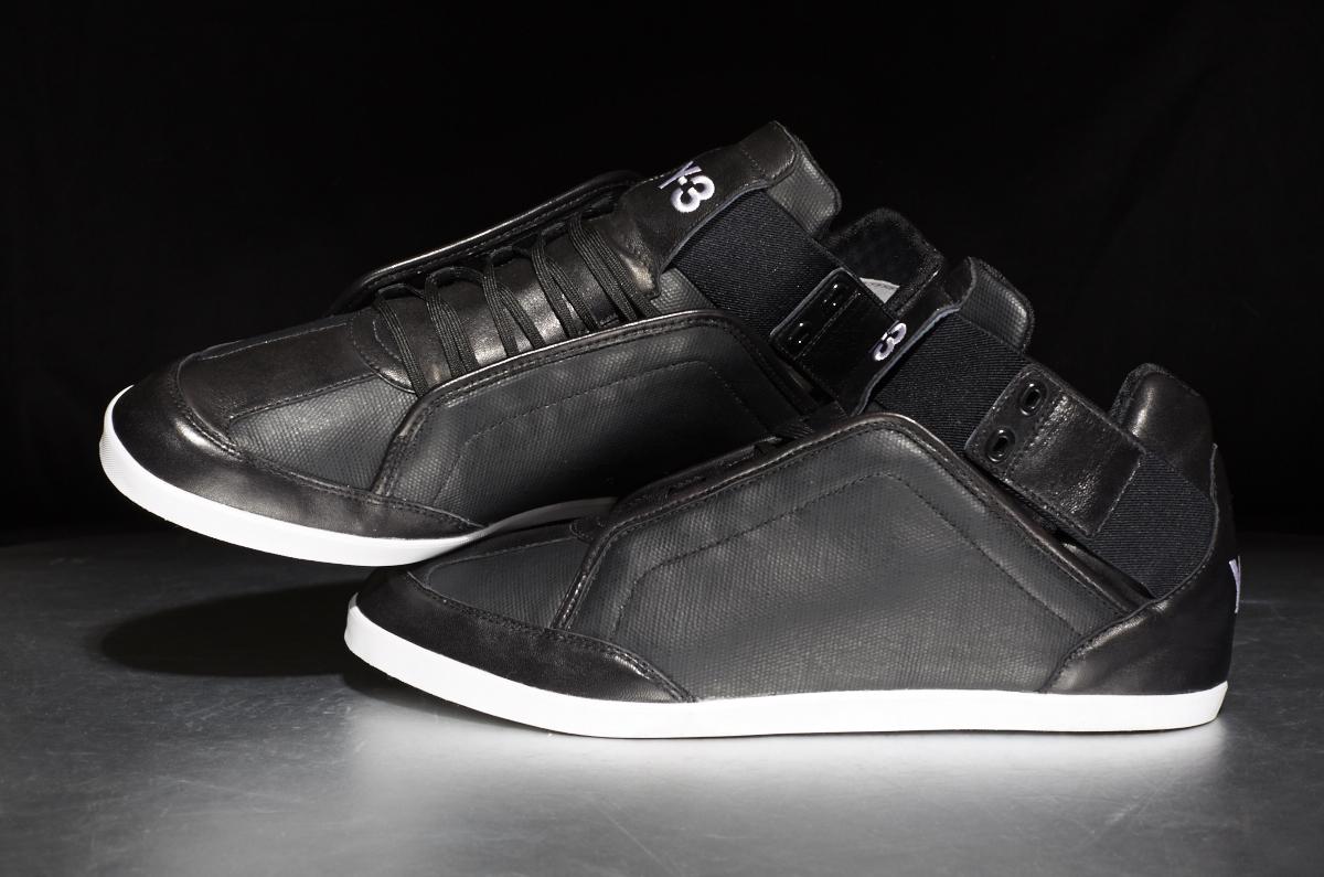 159f34d3898ed Adidas Y-3 Kazuhiri – Black   White – STASP