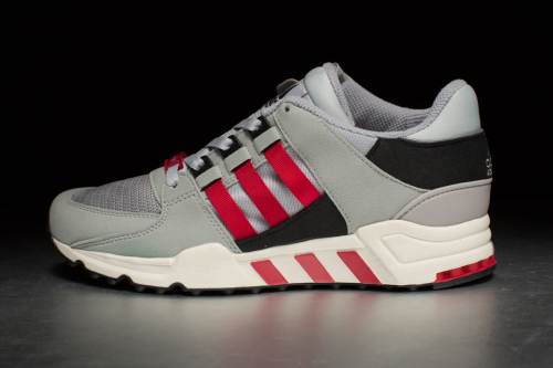 adidas Equipment Running Support '93 – Core Black / Chalk White / Scarlet