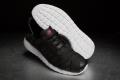 Nike Rosherun Woven – Black / Fuchsia Force / White