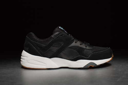Puma R698 'White on White' – Black / Black