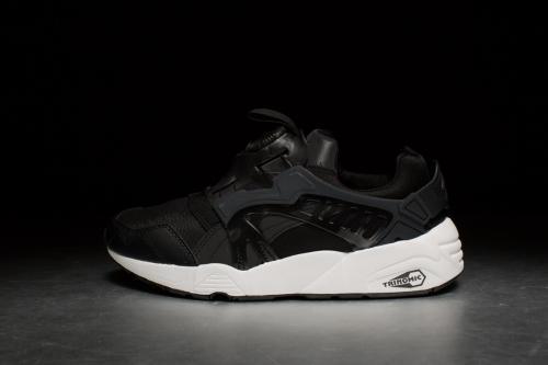 Puma Disc Blaze 'White on White' – Black