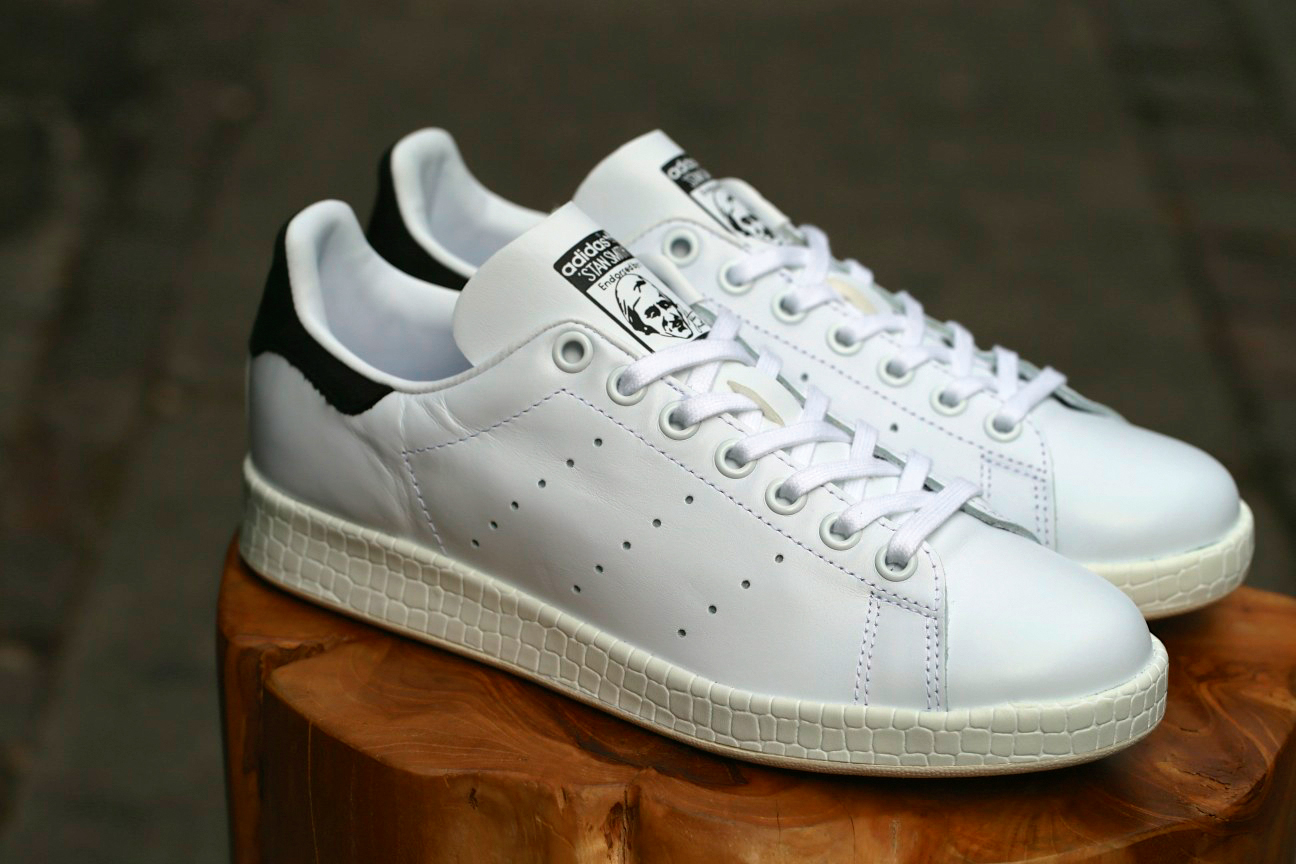 adidas stan smith w zwart