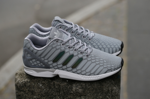 "adidas ZX Flux ""Xeno Pack"" – Light Onix/Supplier Colour/Footwear White"