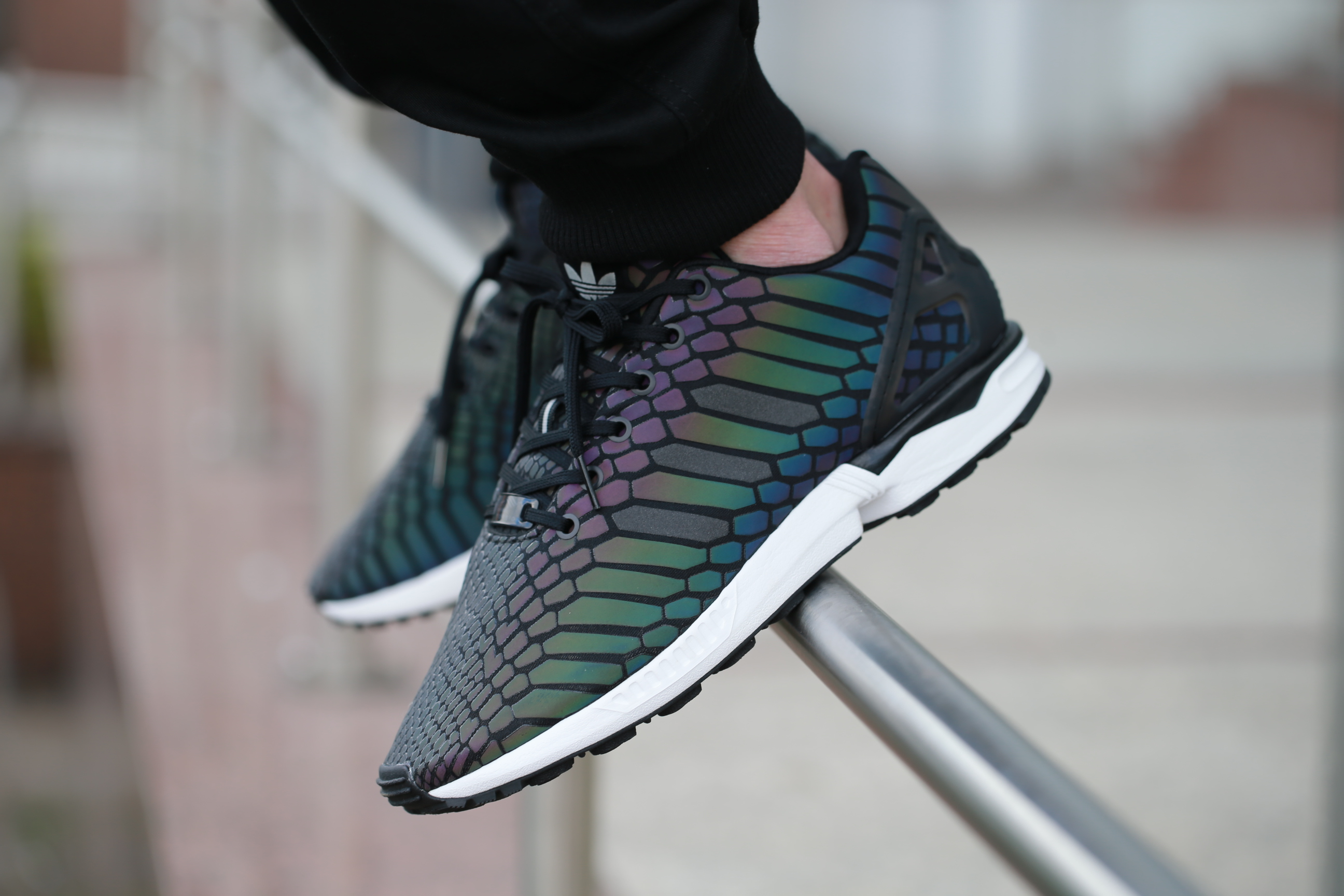 "adidas Originals ZX Flux ""Xeno"" – Core Black   Supplier Color   Ftwr ... 2eb24fc2c"