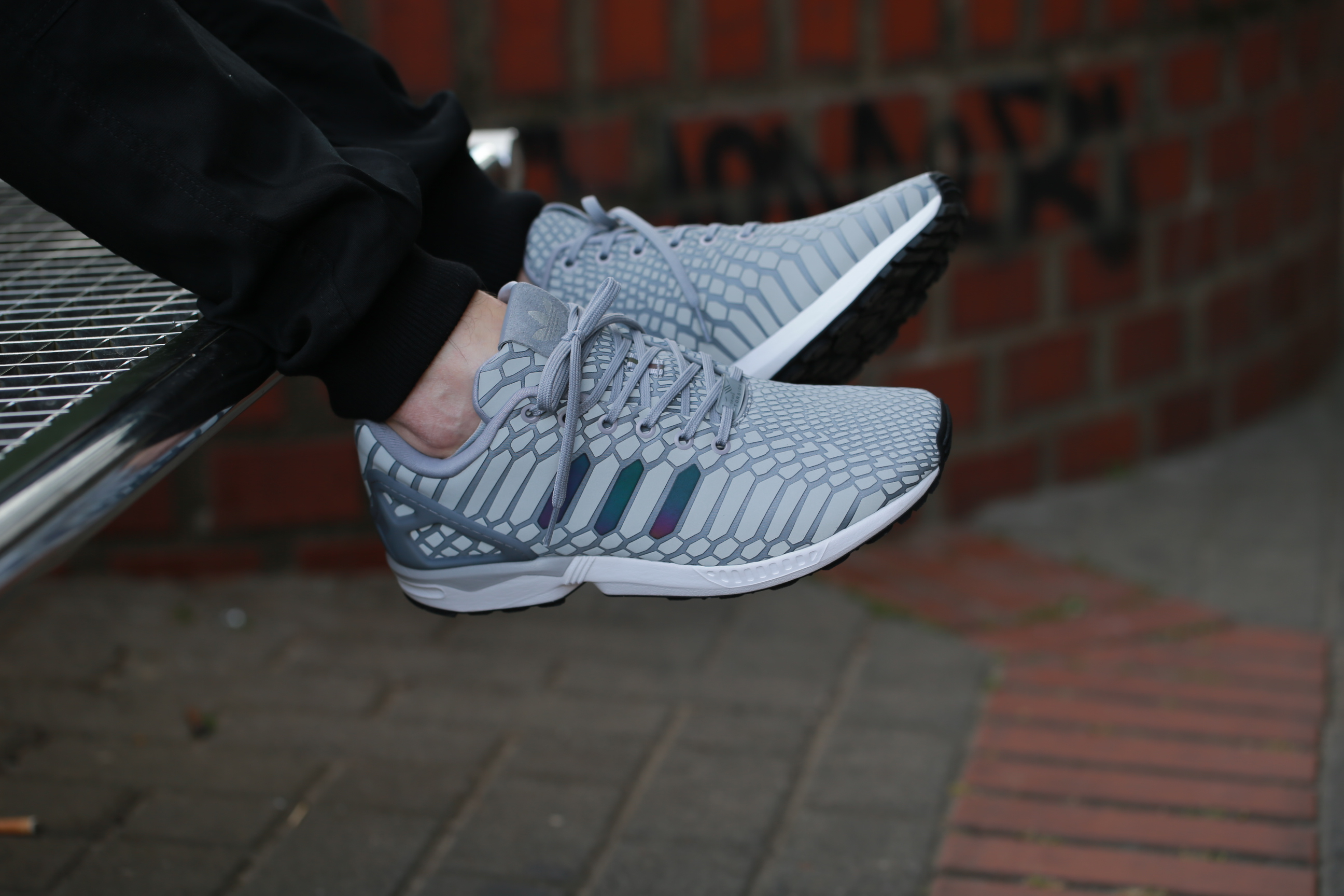 super cute a7ab3 9510d sale reflective adidas zx flux aq4534 white green running shoes mens 3m  glow 11 ebay f090b d1b5a  czech b60p4904 b60p4853 b60p4858 b60p4972  b60p4891 23c95 ...