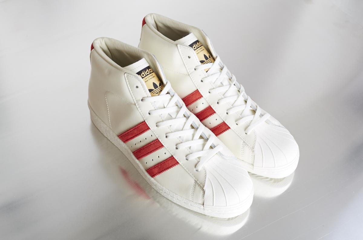 finest selection 0017a 9d624 ... adidas Pro Model Vintage DLX – Off White   Scarlett ...