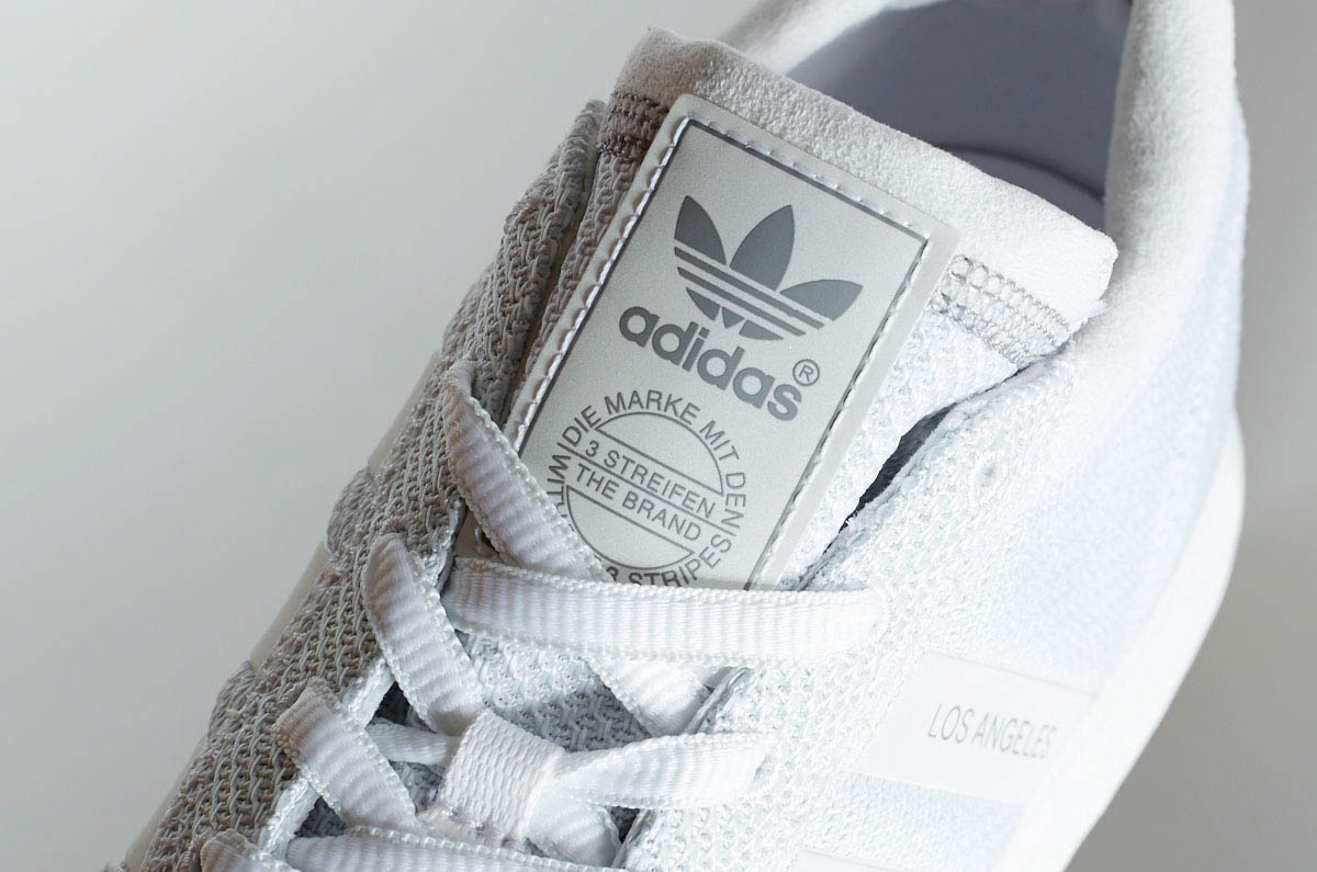 Adidas Los Angeles Vintage White