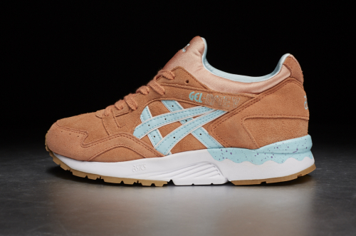 "ASICS Tiger Gel-Lyte V ""Full Bloom"" Pack – Coral Reef / Clear Water"