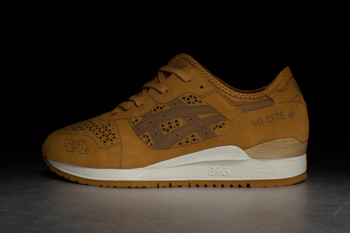 ASICS Tiger Gel-Lyte III 'Laser Cut Pack' – Tan / Tan