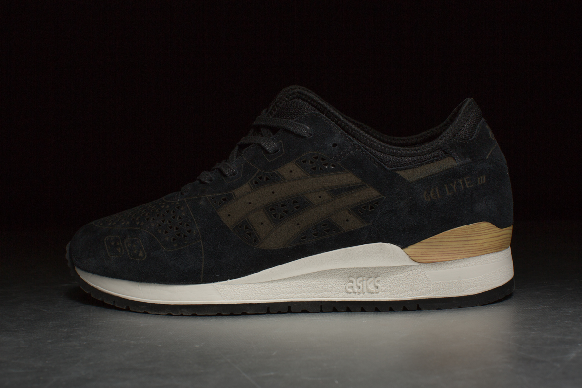 ASICS Gel Lyte III Laser Pack Black