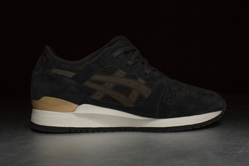 ASICS Tiger Gel-Lyte III 'Laser Cut Pack' – Black / Black