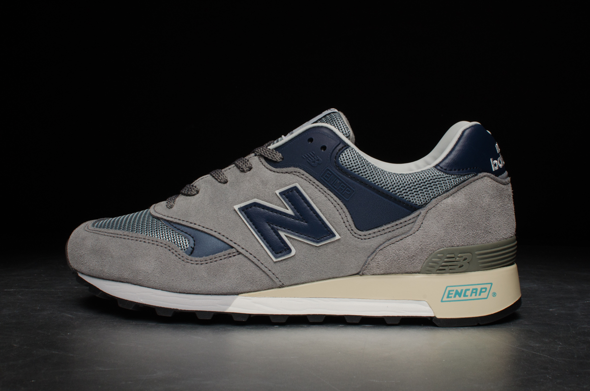 "New Balance 577 ""25th Anniversary"" – Grey   Navy – STASP fcc49b1816ad"