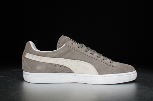 PUMA Suede Classic+ – Steeple Gray / White