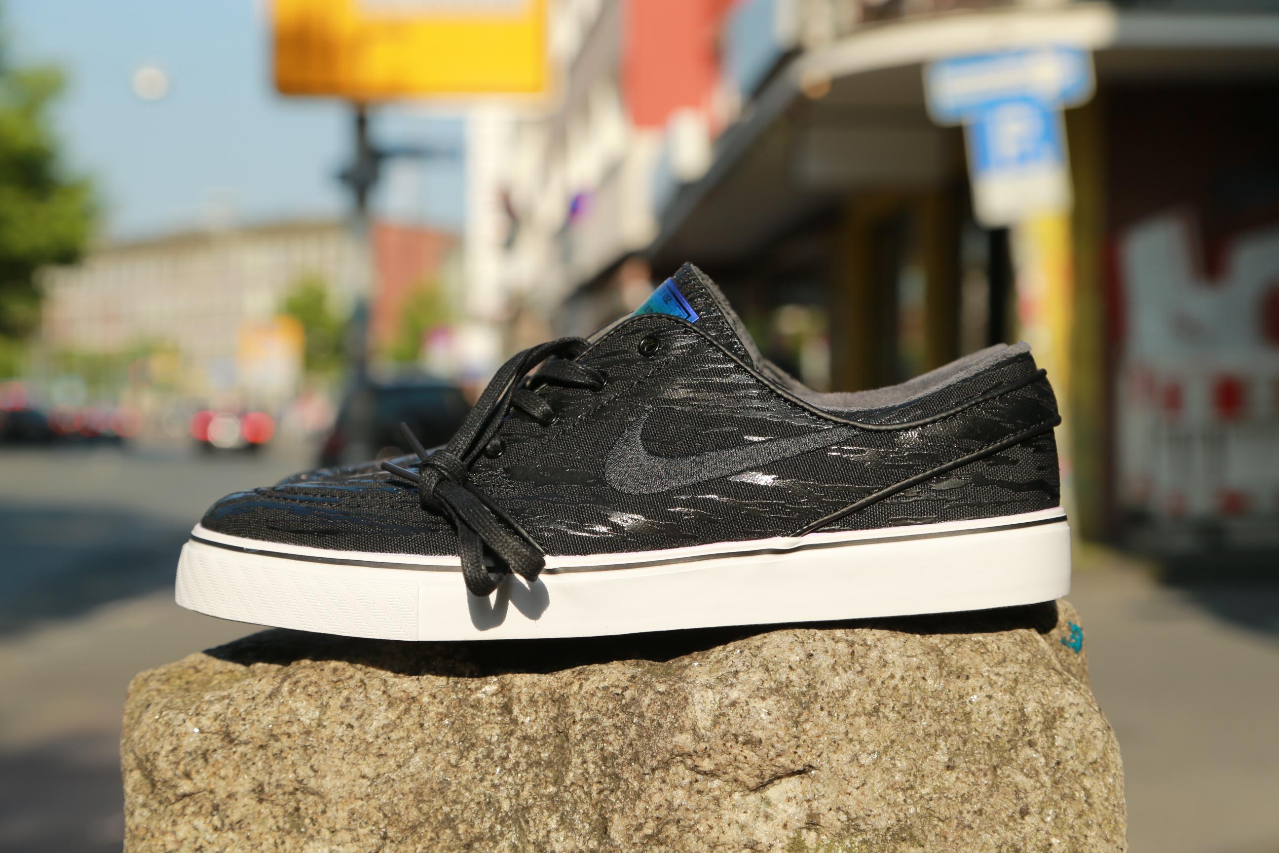 "promo code 9d148 32e77 ... Civilist x Nike SB Zoom Stefan Janoski PR QS ""Spree"" Pack – Black"