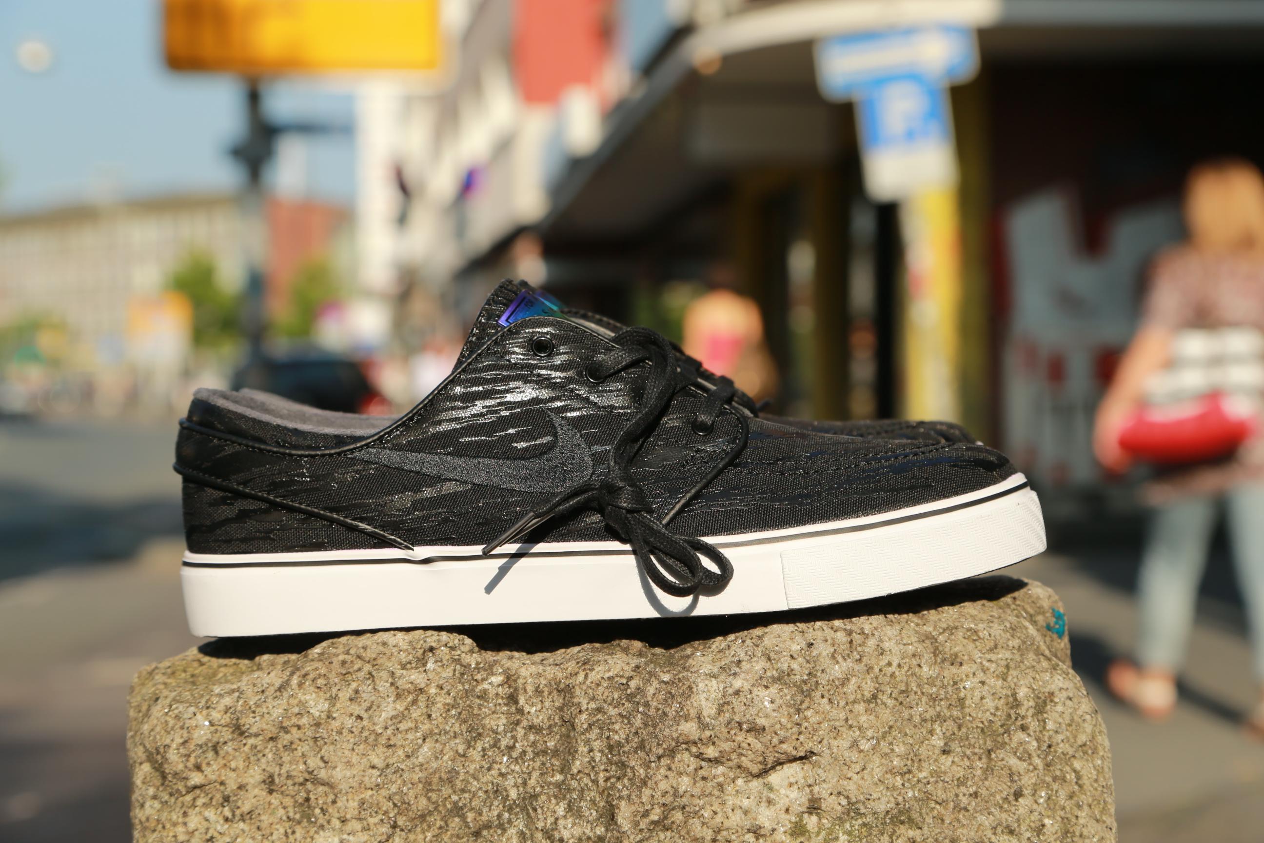 "ed367b94e86b Civilist x Nike SB Zoom Stefan Janoski PR QS ""Spree"" Pack – Black ..."