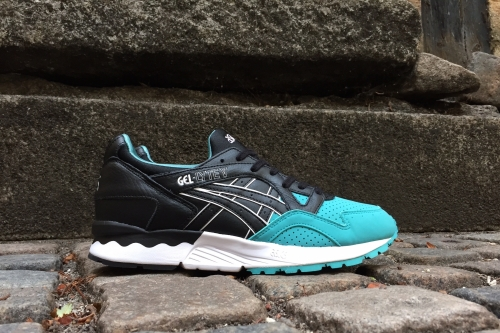 "ASICS Tiger Gel-Lyte V ""50/50"" Pack – Latigo Bay / Black"