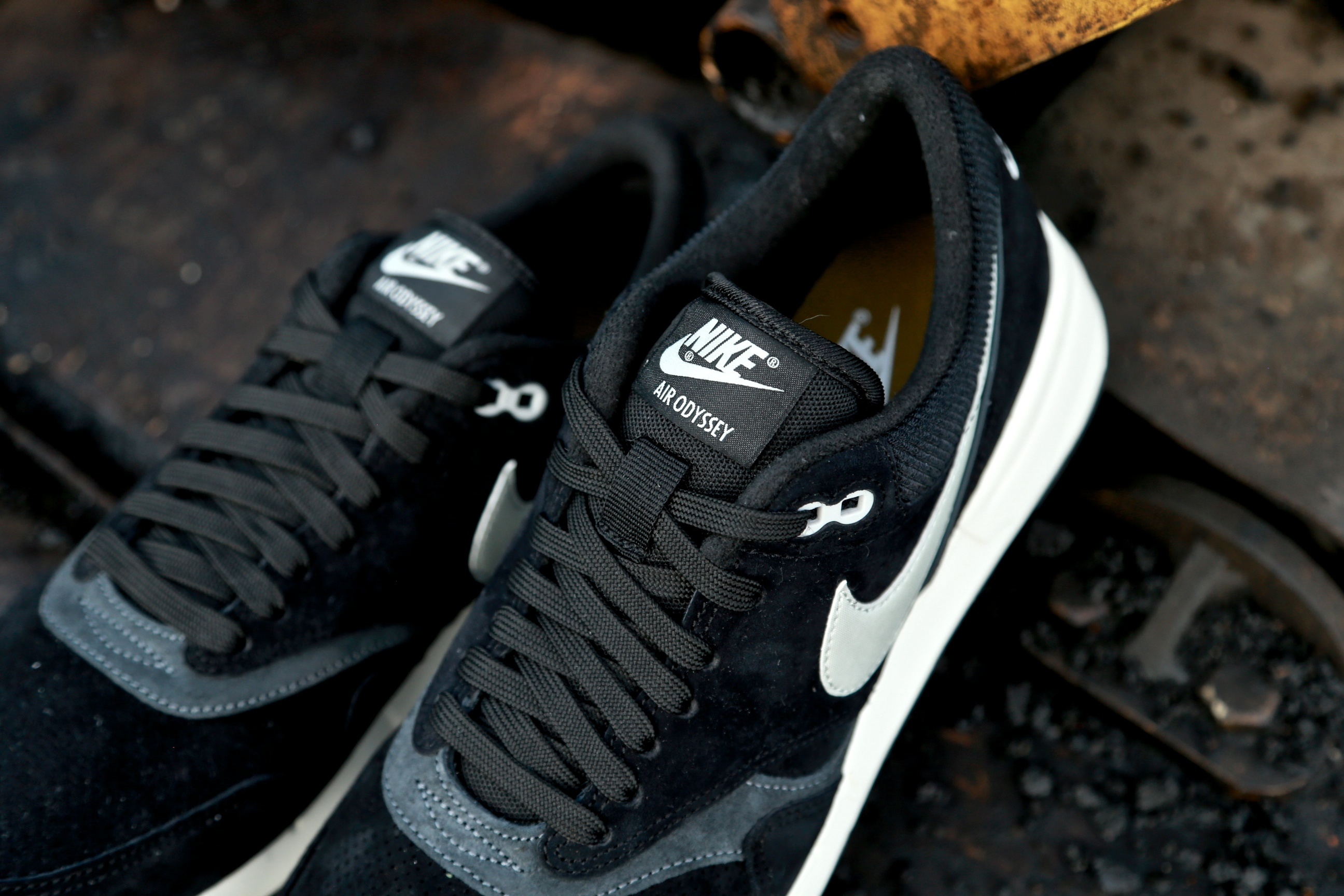 f038cd11bfd Nike Air Odyssey LTR – Black   Anthracite   Sail   Night Silver – STASP