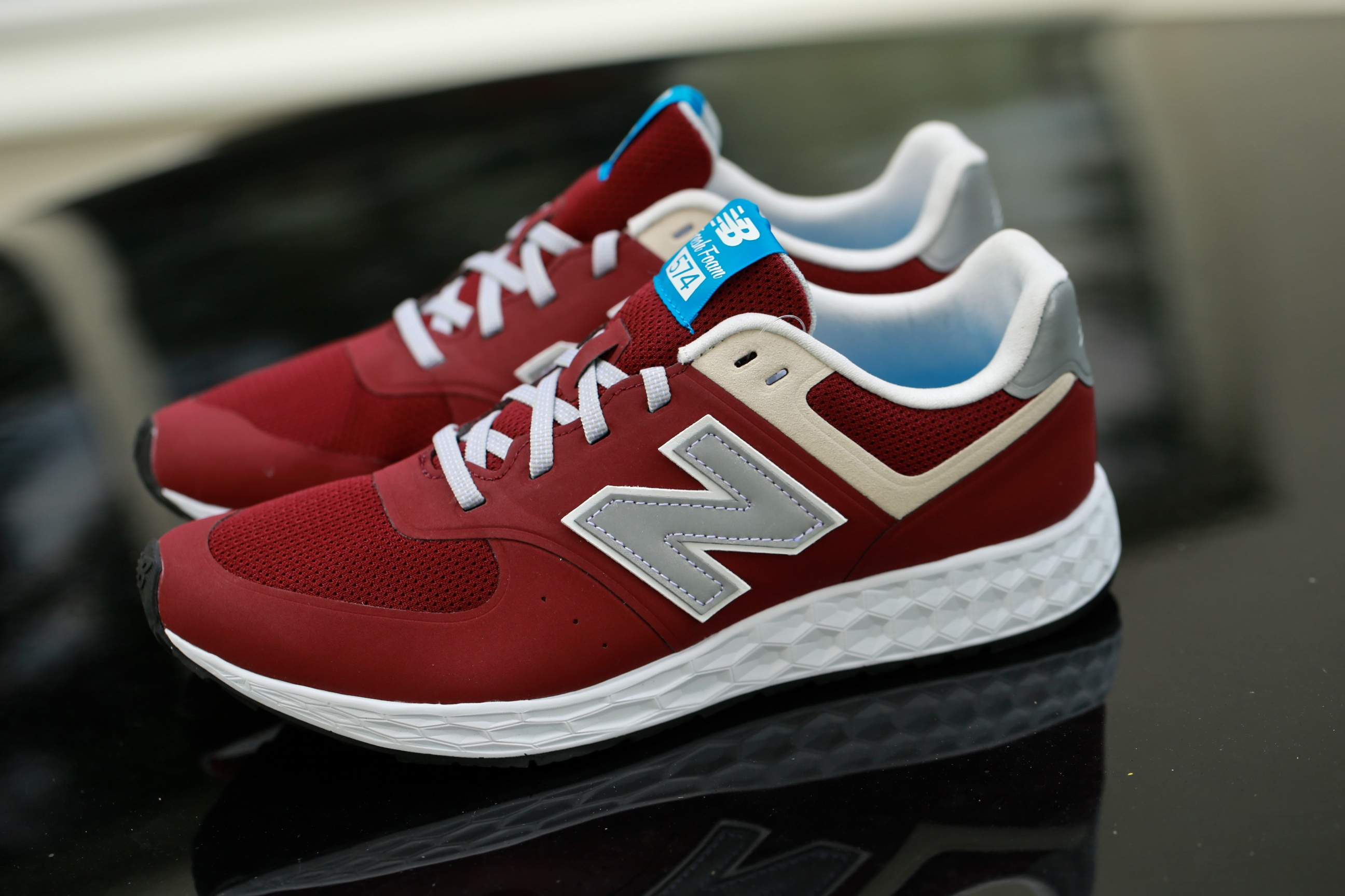 fresh foam new balance 574