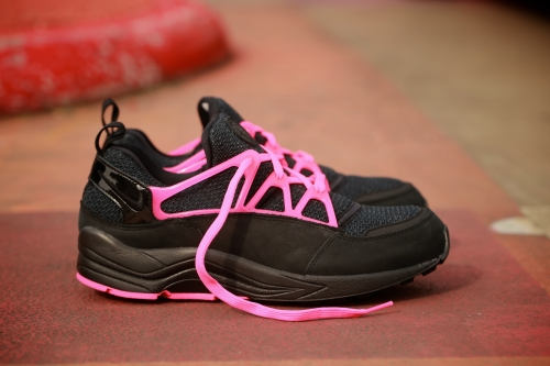 Nike Air Huarache Light FC – Black / Black / Pink Flash