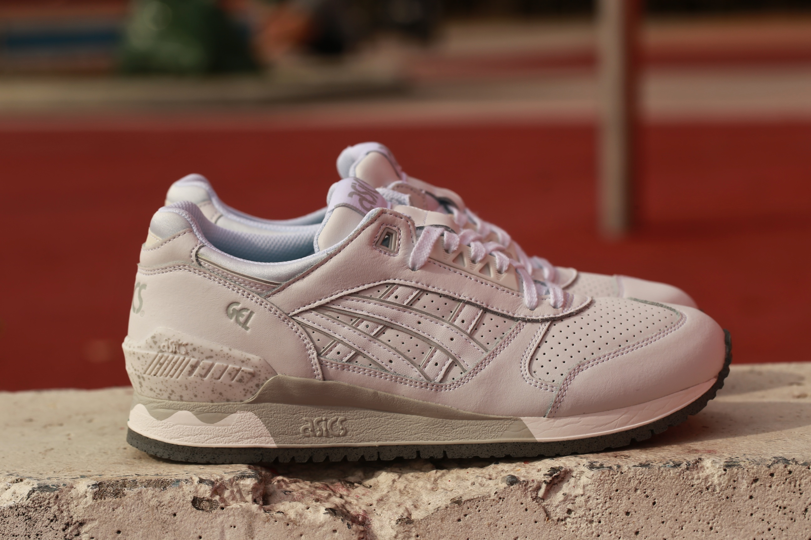 asics gel respector fresh pack white white stasp. Black Bedroom Furniture Sets. Home Design Ideas